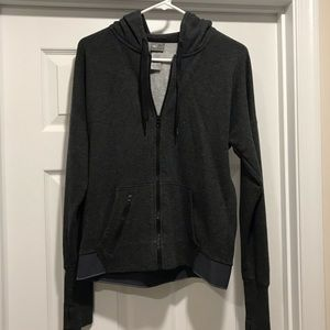 Champion Grey Zip-Up Jacket